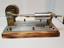 Vintage Hand Made Compressed Air Steam Engine Demonstration Model #1