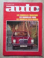 Revue AUTOMOBILE CLUB AUTO-CLUB Nr 84 Fevrier 1968 Nouvelles Ford Mercedes Alfa