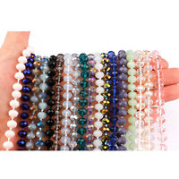 Extra Long Crystal Beaded Hand-knotted Chain Boutique Jewelry For Women Jewelry
