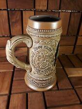 New listing Original Old German Beer Mug Stein - Cobalt Blue - Ceramarte Signed - Drinking