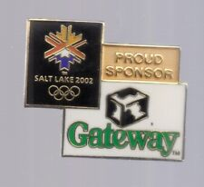 2002 Gateway Salt Lake City Olympic Pin