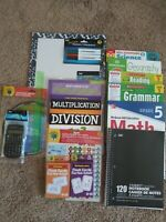 Fifth Grade: Homeschool Curriclum : Grammar, Math, Reading, Science & History