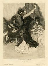 Alexandre Lunois original etching