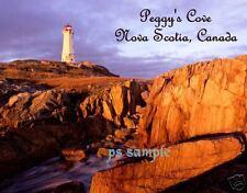 PEGGY'S COVE, NOVA SCOTIA - Travel Souvenir Flexible Fridge Magnet