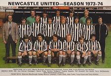 NEWCASTLE UNITED FOOTBALL TEAM PHOTO>1973-74 SEASON