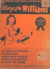 c. 1941 Mary Lou Williams BarrelHouse Boogie Woogie Blues Piano Music RARE Book