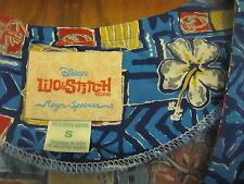 Disney Reyn Spooner LILO & STITCH Dress Hawaiian Muumuu Party Rayon Sun Vtg sz S