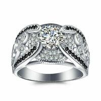 BENIAMINO Damen Ring 925er Sterling Silber Spinell Zirkonia AAA 1,8 ct 18 K OVP