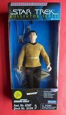 "Star Trek TOS 9"" LT SULU Figure Doll TV Uniform Federation Ed. Playmates MIB NEW"