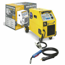 GYS Smartmig 162 Welder 160A 230v 1~ Earth Clamp & 2.2m EURO Torch Included