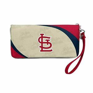 St Louis Cardinals Curve Zip Organizer Ladies Wallet