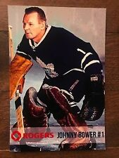 Johnny Bower Rogers Promo Toronto Maple Leafs Goalie Photo 4 by 6 inches
