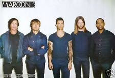"Maroon 5 ""Group Standing Against White Wall"" Poster From Asia - Adam Levine"
