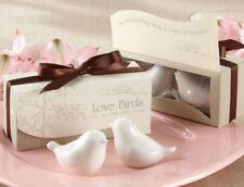 10x Love Birds Salt & Pepper Shakers Wedding Favours Bomboniere Guests Gifts