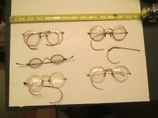 Vintage Eye Glasses and frames mixed lot Broken pieces parts