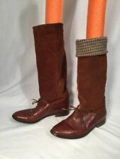 Marc Alpert Collection Made in Italy for Maria Pia Equestrian Riding Boots Sz 7