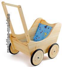 Holzspielzeug Puppenwagen Lauflernwagen Puppenbuggy Drewart Massivholz 934 3100