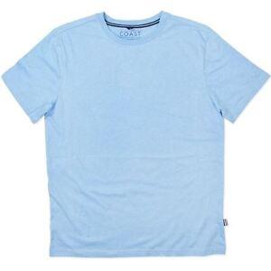 Mens ~ Coast Clothing Co ~  Cotton / Viscose Blue T.shirt Sleepwear Tee Top