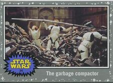 Star Wars JTTFA Silver Parallel Base Card #34 The garbage compactor