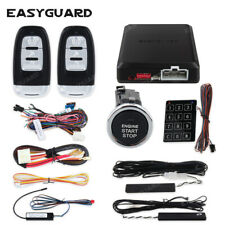 Easyguard pke security car alarm system keyless entry remote start push button