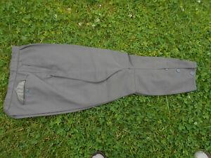 NVA Offiziershose Reithose Stiefelhose Breeches Grau  Größe  m 48