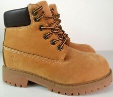 Phat Farm Ankle Wheat Nubuck Boots Kids Size 12