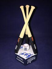 Miguel Cabrera Autographed 3x Repeat Batting Champ Trophy w COA- Detroit Tigers