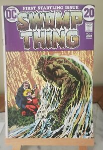 SWAMP THING #1 and #2 1972