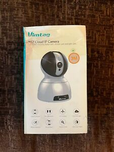 Security Camera with Super 3MP FHD - WiFi Camera Indoor - Wireless IP Cam with A