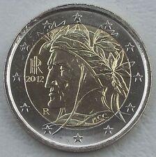 2 Euro Kursmünze Italien 2012 unz