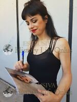 Dolcenera Foto Autografo Autografata Signed Photo Italian Singer Music Photo