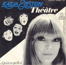 "KATJA EBSTEIN – Théâtre (1980 EUROVISION FRENCH SUNG VINYL SINGLE 7"" GERMANY)"