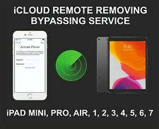 iCloud Remote Removing Service, Bypassing, Fits iPad 2, 3, 4, 5, 6, 7, Pro, Mini