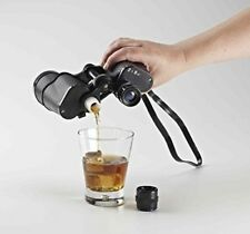 Sneaky Binocular Flask 500ml Hidden Alcohol Festival Cricket Gift Sunscreen