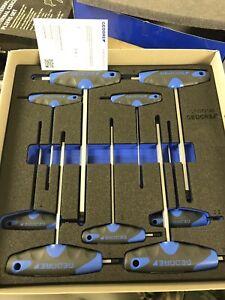 Gedore T Handle Allen Key Set 1500 CT2-DT 42 Hexagon Socket Key Set 3 CT Module