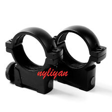 1 Pair Heavy Duty 25.4mm Ring Low Profile Rifle Scope Mount 11mm Picatinny Rail