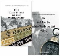 2 Book-Bundle - The Cuff Titles & The East Medal (Sascha Weber)