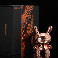 Kidrobot New Money Rose Gold Metal 5 Inch Dunny Figure In Stock Now