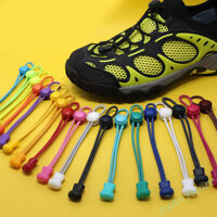 Elastic Shoelaces Lock Laces No Tie Triathlon Running Jogging Sport Laces 1.2M