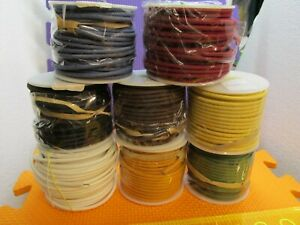 Wire 20 AWG Solid Core Lacquered Cloth 8 Colors Repair Restore of Vintage / New