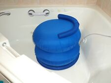 Personal Cushion Bath Lift, Made in the USA, portable inflatable lifting chair,