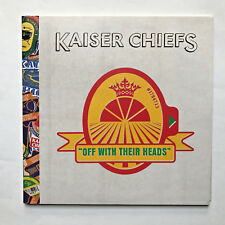 KAISER CHIEFS - OFF WITH THEIR HEADS * VINYL LP ** PROMO ** FREE P&P UK * MINT *