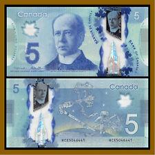 Canada 5 Dollars, 2013 (2016)  P-106 BC-96b Polymer Space Walk Unc