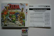 Legend of Zelda Triforce Heroes Nintendo 3DS Complete - Working