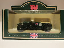 LLEDO DG46 000 1930 BENTLEY 4.5LTR - BRITISH RACING GREEN - TV TIMES