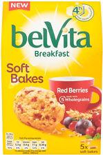 Belvita Breakfast Biscuits Soft Baked Red Berries  3 x 250g