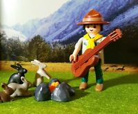 PLAYMOBIL LOT 322 BOY SCOUT SCOUTISME JAMBOREE AVENTURE NATURE CAMP BADEN POWELL