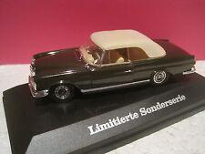SUPERBE MERCEDES-BENZ 220SE COUPE/CABRIOLET W111~~1961/65 FALLER 1/43 NEUF BOITE