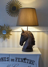 Pferdelampe Table Lamp Horse Head Light Bedside Retro