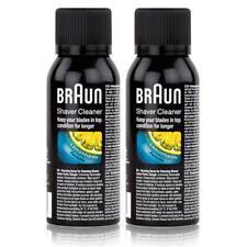 2x Braun Shaver Cleaner - Reinigungsspray fürRasierapparat